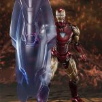 Figura Iron Man Mk-85 Batalla Final Marvel Sh Figuarts