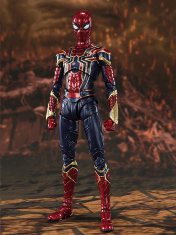 Figura Iron Spider Batalla Final Marvel Sh Figuarts