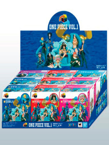 Figura One Piece Vol.1 Display Blind Box One Piece Tamashii Box