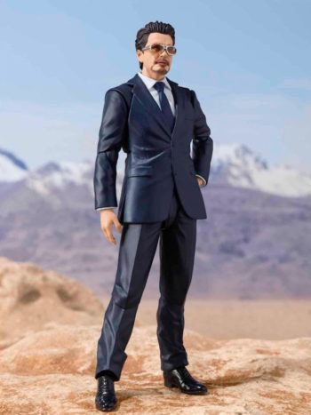 Figura Tony Stark Birth Of Iron Man Ver Marvel Sh Figuarts